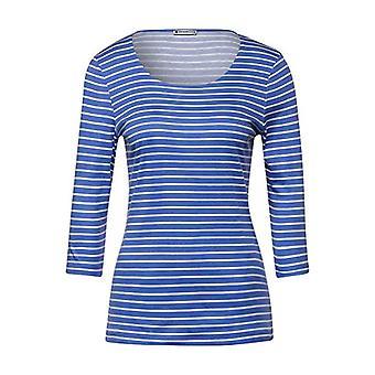 STREET ONE Camiseta Hanya, azul cálido, 44