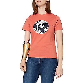 Lee Circle Tee T-Shirt, Paprika, XS Woman
