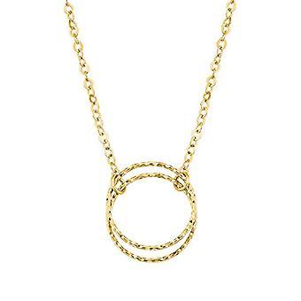 amor Kvinnors halsband med guldhänge 375, ring