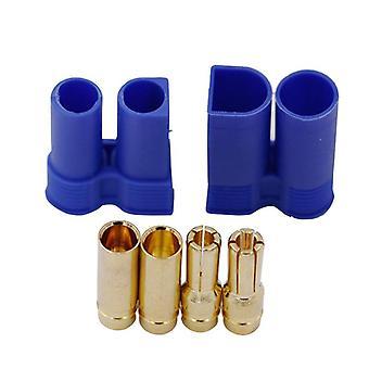 1 paar Ec5 Rc Connector Vrouwelijke Mannelijke Bullet Gold Connector