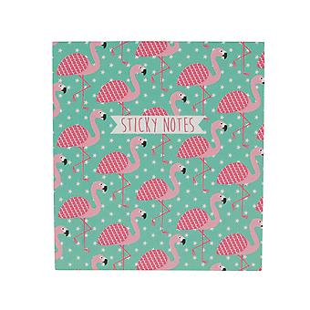 Sass &belle tropisk flamingo sticky notes