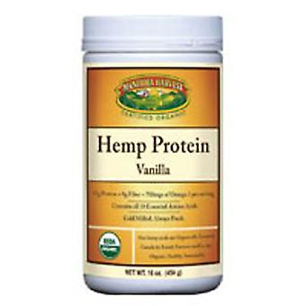 Manitoba Harvest Organic Hemp Protein, Vanilla, 16 oz