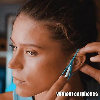 2pcs Kopfhörer Anti-Drop-Clip Schutzhülle Neue Keepods hält Ihre Ohrhörer sicher (Blau)