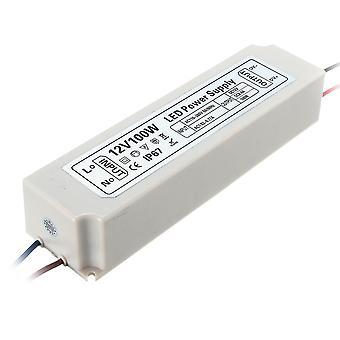 IP67 100W AC100-264V لDC12V محول برنامج تشغيل مزود التيار الكهربائي لـ LED