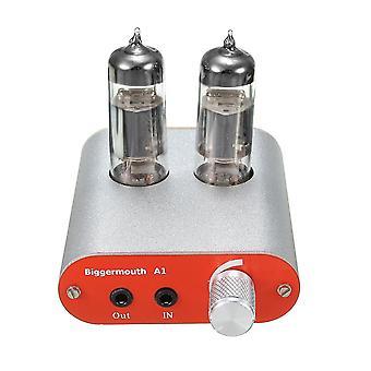 Maior boca A1 HIFI Nível de febre Amplificador de fone de ouvido 6J5 Válvula de tubo multi-híbrido