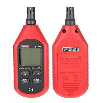 Bärbar inomhus mini digital temperatur luftfuktighet meter termometer hygrometer