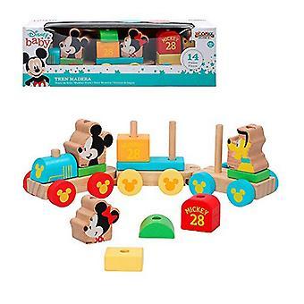 Train Mickey & Minnie 14 pcs 34 cm (18+ months)
