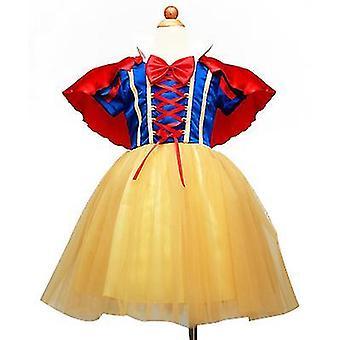 Girls' Princess Costume Fancy Dresses Up Halloween Party(130cm)