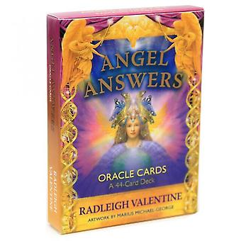Angel Answers Oracle Cards Game 44 Cards Full English Family Holiday Party Board Game Divination Fate Tarot