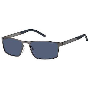 Tommy Hilfiger Rectangular Sunglasses - Dark Grey