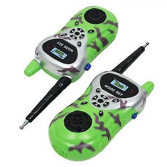 Kinder Mini Walkie Talkie Spielzeug Pack von 2 (Grün)