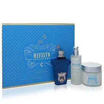 Mefisto Gentiluomo By Xerjoff Gift Set -- 3.4 Oz Eau De Parfum Spray + 3.4 Oz Deodorant Spray + 6.7