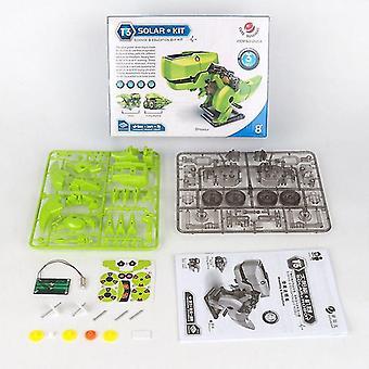 3 Sisään 1 Solar Energy Robotic Dinosaur Kits-diy Assembly