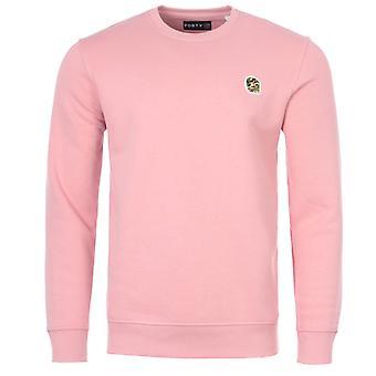 Forty Parker Organic Cotton Blend Sweatshirt - Flamingo Pink