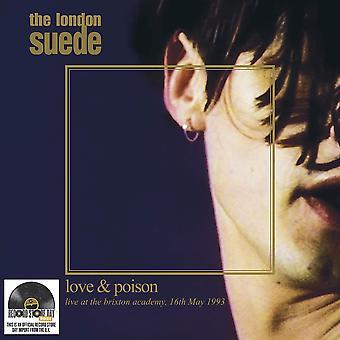 The London Suede - Love & Poison (Live At The Brixton Academy, 16 mai 1993) Édition Limitée Clear Vinyl