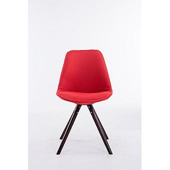 Esszimmerstuhl - Esszimmerstühle - Küchenstuhl - Esszimmerstuhl - Modern - Rot - Holz - 48 cm x 56 cm x 84 cm