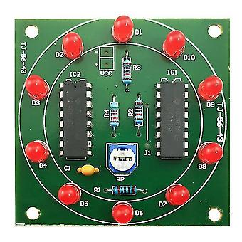 Integrated circuits chips lucky rotary suite electronic suite self diy led light kits production parts and components