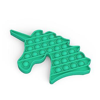 Pop it fidget sensorische Spielzeug Linderung für Stress und Angst (J - Grün)