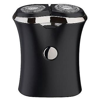 Sähköinen parranajokone 2 kelluva pää kannettava vedenpitävä partakoneen parranajokone USB ladattava teräs miesten miehille