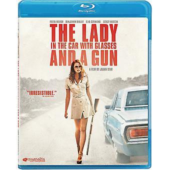 車の中でメガネ ・銃 [ブルーレイ] USA 輸入女性
