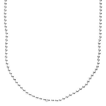 Sterling 925 Silver bling ball chain - BALL 2 mm
