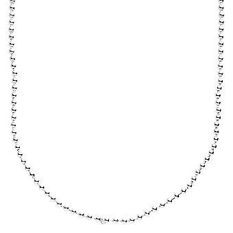Sterling 925 argint bling Ball Chain-BALL 2mm