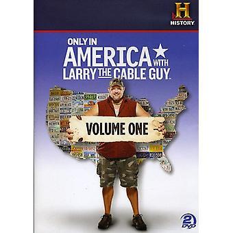 ラリー ケーブルの人、アメリカだけで 1 巻 【 DVD 】 米国のインポートします。
