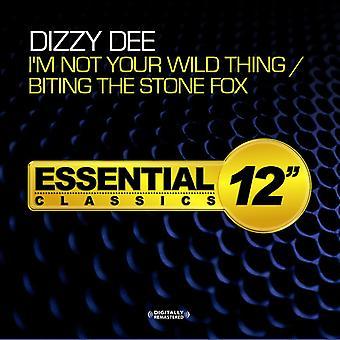 Dizzy Dee - ich bin nicht dein Wild Thing / beißen den Stein Fox [CD]-USA import