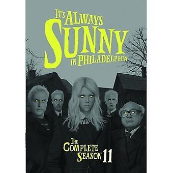 Det är alltid soligt i Philadelphia: Comp säsong 11 [DVD] USA import