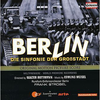 Edmund Meisel - Berlin: Sinfonie Der Gro Stadt [CD] USA import