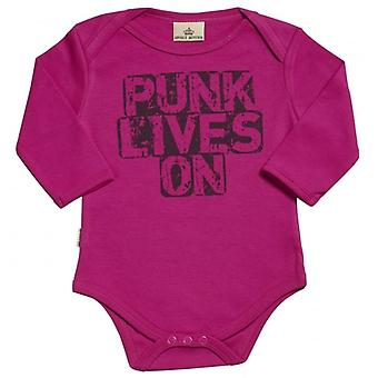 Spoilt Rotten Punk Lives On Organic Babygrow
