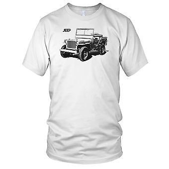US Army 1944 Jeep Willys Kids T skjorte