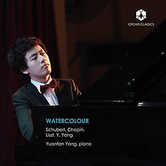 Chopin / Yang - Watercolour [CD] USA import