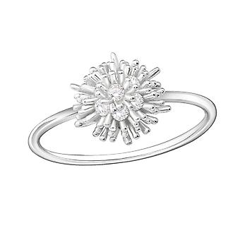 Cluster - 925 Sterling Silver Jewelled Rings - W33911X