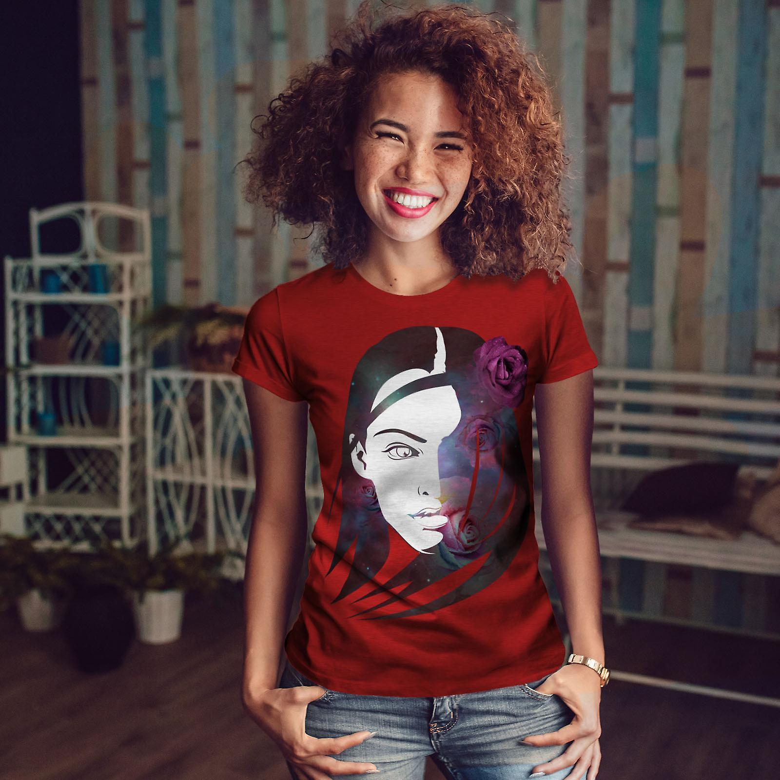 Espace Rose visage RedT-chemise femme | Wellcoda
