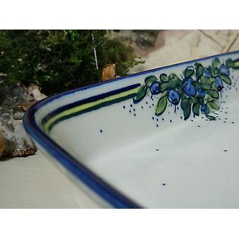 Schale / Auflaufform, 19 x 24 x 4 cm, Unikat 40 - Porzellangeschirr - BSN 6597