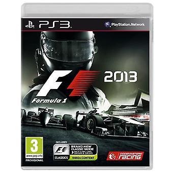 F1 2013 (PS3) - New