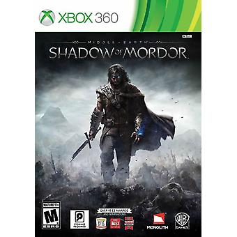 Midden-aarde schaduw van Mordor Xbox 360 Game