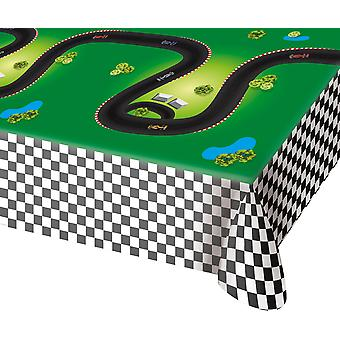 Table cloth tablecloth tablecloth formula one kids party 130x180cm