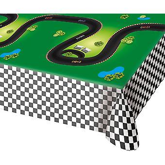 Tabel doek tafelkleed tafelkleed Formule 1 kinderen partij 130x180cm