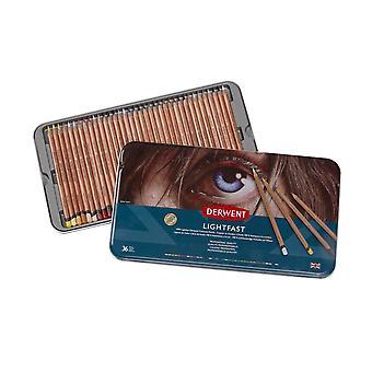 Derwent Lightfast Pencil Tin Set 36