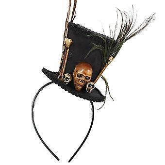 Serre-tête Voodoo crâne osseux crâne OS Halloween accessoire