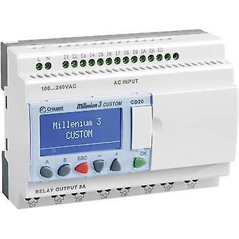 Crouzet 88974051 Millenium 3 Smart CD20 R PLC controller 24 V DC