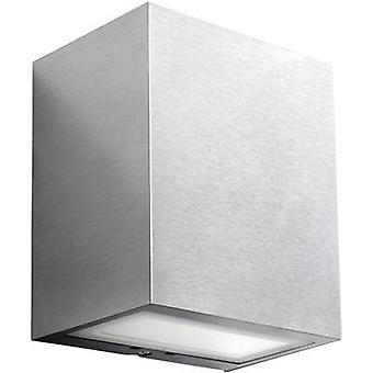 Acero inoxidable de Philips iluminación Ledino 17209/47/16 LED pared al aire libre luz de 3 W blanco cálido
