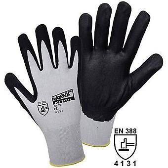 L+D worky FOAM Nylon NITRILE 1158 Nylon Protective glove Size (gloves): 10, XL EN 388 CAT II 1 Pair