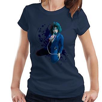 TV vezes Marc Bolan na t-shirt supersônico ao vivo T Rex feminino