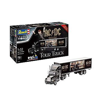 Revell 7453 AC/DC Tour Truck & Trailer With Accessories 1:32 Plastic Model Kit