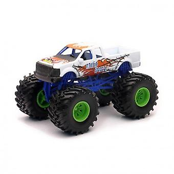 01:43 scala Die-Cast Monster Truck, camion bianco