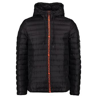 Antony Morato Sport Black Hooded Bubble Jacket