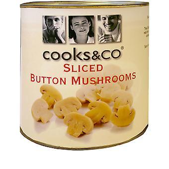 Cooks & Co Sliced Mushrooms